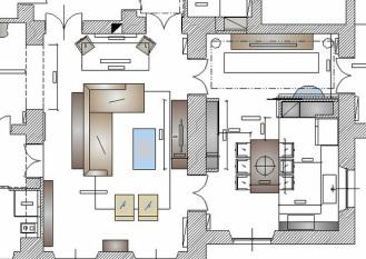 Come progettare la zona giorno una casa per te for Progettare la casa